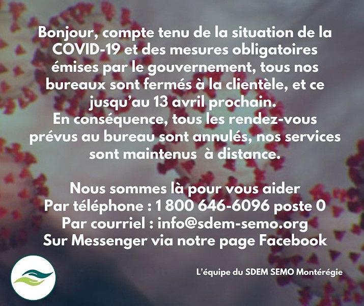 Communiqué > COVID-19