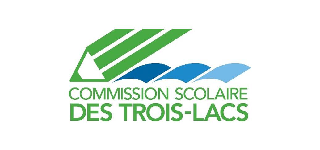 Commission scolaire des Trois-Lacs logo