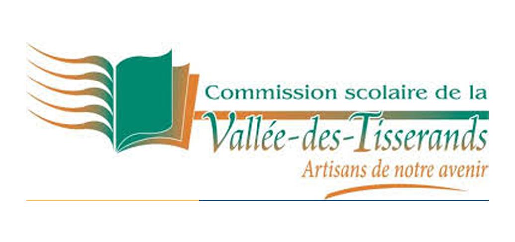 Commissions scolaire de la Vallée-des-Tisserands logo